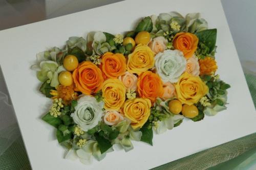 プリザーブドアレンジNo.6~お祝い・プレゼント