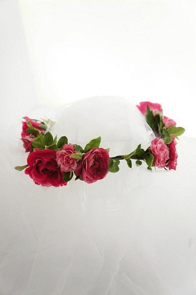 ヘアアクセサリーNo.7~アーティフィシャル花冠