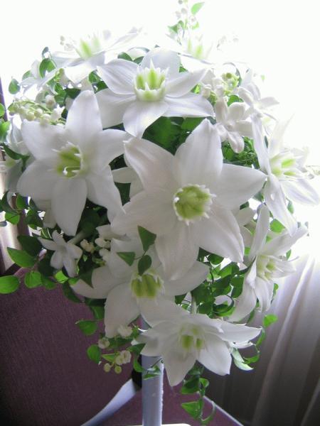 ホワイトティアドロップ~No.3